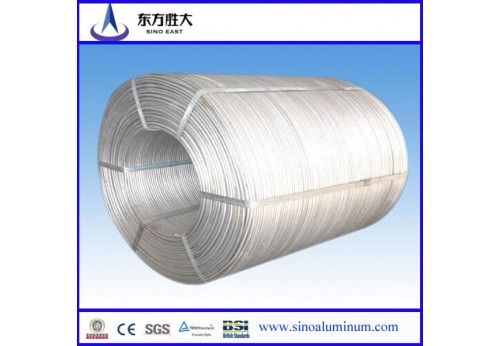 6101 T4 Aluminum Wire Rod 9.5mm