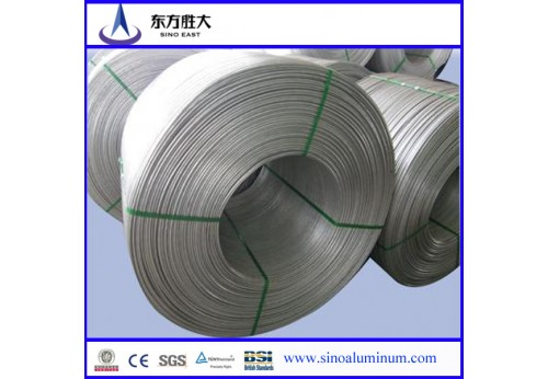 aluminium wire rod 6201 with superior quality