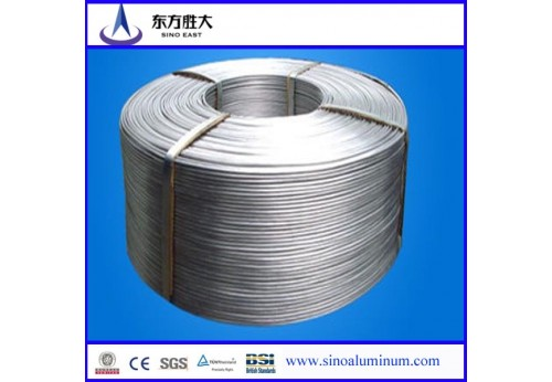 EC grade 9.5mm aluminum wire rod