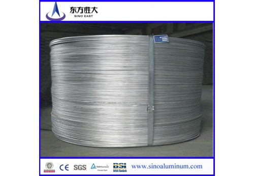 Low price and super sales 6201 aluminum wire rod