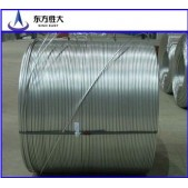 Enameled aluminum wire with different diameter