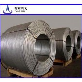 9.5 mm diameter Aluminium wire